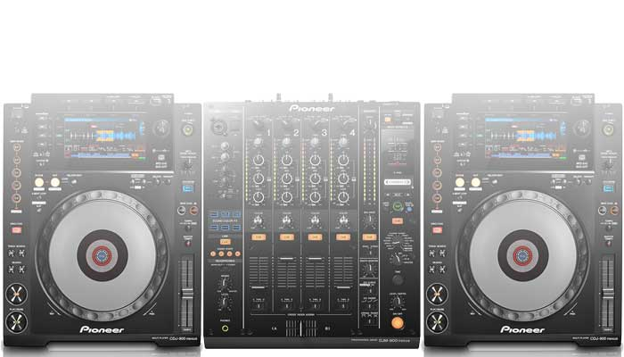 Pioneer CDJ & DJM systems for hire