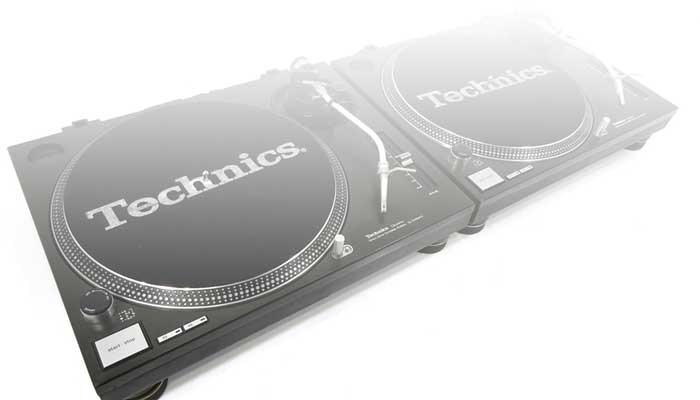 Vinyl Playback: Technics 1200mk2/1210mk2 Based Hire Packages