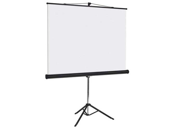 6Ft x 6Ft Tripod Projector Screen for hire
