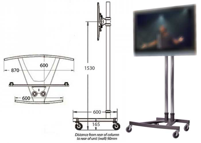Unicol K Base Stand for Hire